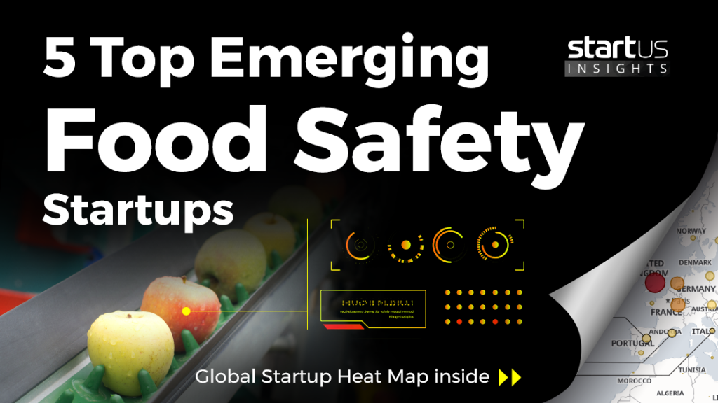 VPCIR among '5 Top Emerging Food Safety Startup' s by Startus Insights (Austria)